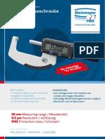 Steinmeyer - Mikrometry elektroniczne Serii 0800 - 2018 D, EN