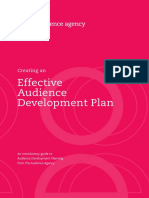 Creating an Effective Audience Development Plan - The Audience Agency