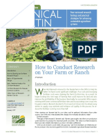 How to Conduct Research on Your Farm