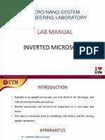 1- Inverted Microscope