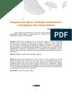 Imegns Que Agem-produção Audiovisual e Paradigma Pós-Interpretativo