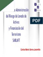 Modelo Basado en Riesgos para la Aplicación de Programas de Prevención del Lavado de Dinero y del Financiamiento del Terrorismo-SARLAFT de Colombia-.pdf