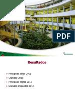 resultados a diciembre 2011