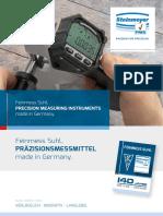 Steinmeyer - Katalog 2018 D, EN