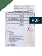 20170711 Mbbs Examination Timetable
