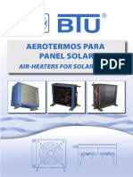 Manual Aerotermos BTU