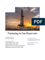Fracturing in Gas Reservoirs