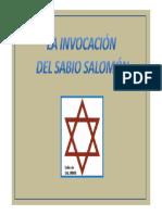 Invocacion Del Sabio Salomon