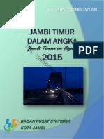 Jambi Timur Dalam Angka 2015
