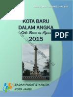 Kota Baru Dalam Angka 2015