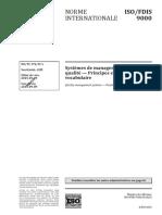 FDIS ISO 9000 F