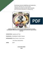 Analisis Linguistico de La Deixis