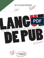 Langue de Pub