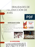 Generalidades de Producción de Avesclases