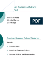 216f06 American Business Culture Workshop