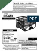 Generator 8700 watt