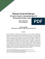 Manejo Social Del Riesgo