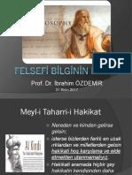 Ozdemir-Felsefeye Giriş- Bilim Felsefesi