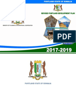 Revised Puntland Development Plan 2017 2019 Book