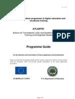 Guía del Programa Atlantis