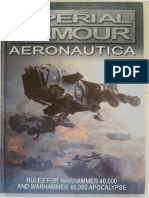 Imperial Armour Aeronautica (Flyers for 40.000)