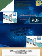 Flujo en Canales Abiertos y Cerrados, Velocidad, Caudal y Friccion en El Flujo de Fluidos