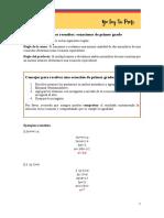Ecuaciones de Primer Grado Ejercicios Resueltos 1