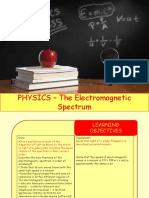 Physics 20 - The Electromagnetic Spectrum.pptx