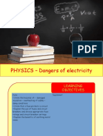 Physics 31 - Dangers of electricity.pptx