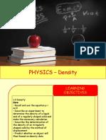 Physics 4 - Density.pptx