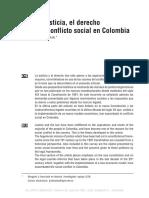 La Justicia, El Derecho en El Conflicto Social Carvajal.