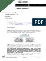 Producto Académico N°1 Geografía Económica Global (Foro Consolidado 1)