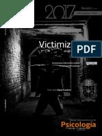Victimización_Análisis Bibliométrico en PsycINFO