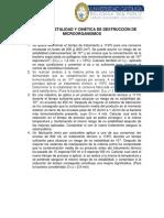 Práctica 2 Letalidad y Cinética de Destrucción de Microorganismos
