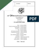 13 Puzzle Fatih