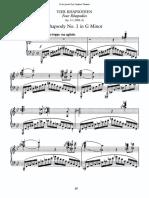 4 Rhapsodien Op. 11
