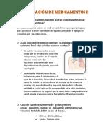 Administración de Medicamentos II