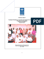 Capacity Building for MDG_Kampala Workshop Proceedings Report_2010.PDF - Adobe Acrobat Professional