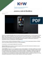 Víctima Del Éxito El Ascenso y Caída de BlackBerry