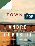 Dubus III - Townie