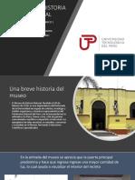 EL MUSERO DE HISTORIA NATURAL Y EL MUSEO DE LA MEMORIA