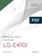 LG E410 Optimus L1 II Guia de Usuario