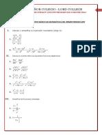 Afianzamiento Basico de Matematicas