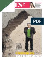 ENRIQUE VERÁSTEGUI. Cruzar Los Extramuros. Carmen Ollé. El Comercio (Luces)