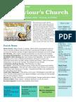 st saviours newsletter - 9 september 2018