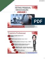i - Marketing Pessoal e Negociação- Unidade i - o Mundo Do Trabalho (1)