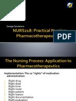 NURS218 Dosage Calculations