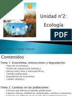 Ecología ecosistemas,interacciones y degradación