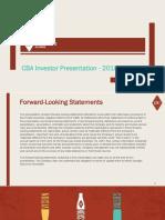 BREW Investor Deck August 2018 FINAL