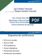 Magistral 6 - Enfermedad Cerebrovascular, Dra Violeta Díaz